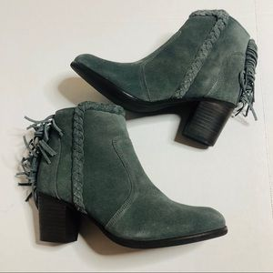 Matisse Lucinda suede leather ankle boots